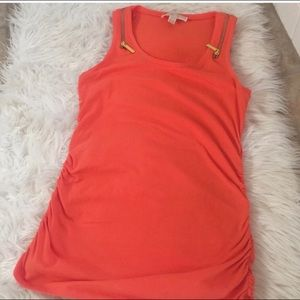 Michael Kors Zippered Tank